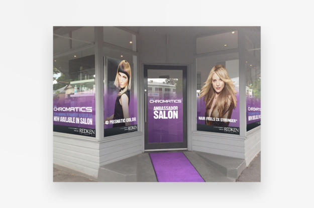 Redken Chromatics Launch Graphics