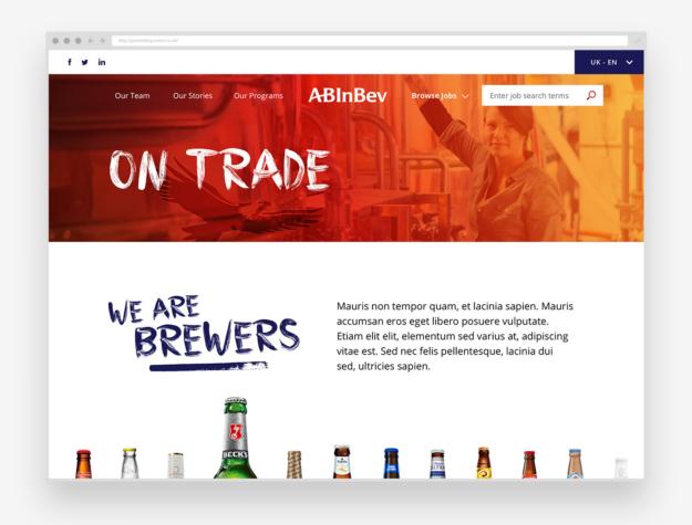 ABInBev Careers Site