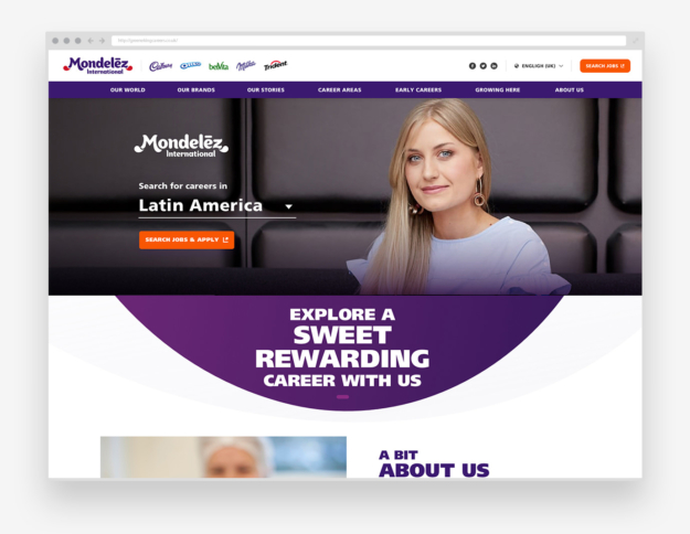 Mondelez Careers Site